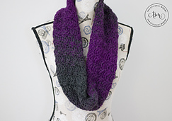 Mulberry Wine Infinity Scarf by The Stitchin' Mommy