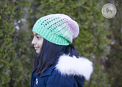 Equilibrium Slouch Hat by The Stitchin' Mommy