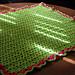 Double V-Stitch Baby Blanket pattern