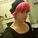 Crocheted Beret Hat pattern