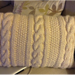 Cabled Cushion Cover pattern