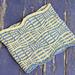 Op Art Cowl pattern