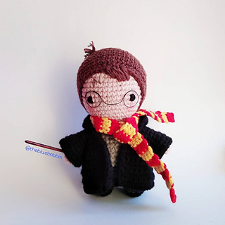 Free Amigurumi Harry Potter patterns including Hermione, Harry ... | 320x320