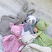 Crochet Bundle Sleepy Baby Lovey pattern