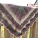 Feather and Fan Triangle Shawl pattern