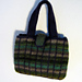 Plaid + Felt = Bag pattern