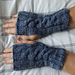 Cabled Wrist Warmers pattern
