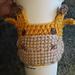 Giraffe Cup Cozy pattern