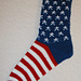 American Flag Socks pattern