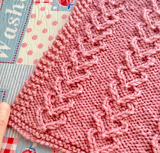 Cable Knit Hearts