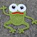 My little Frog pattern