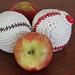 Baseball Apple Cozy Cosy pattern
