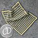 Crescent Moon Blanket (dropped chevron) pattern