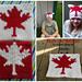 Maple Leaf Graphed Sack Hat pattern