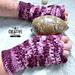 Mermaid Dreams Adult Wristers pattern