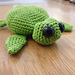 Terry the Turtle pattern
