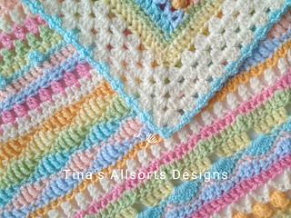 The Allsorts Blanket, edging idea
