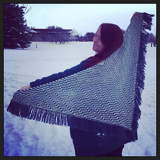 Havana Shawl - The Simple Version is also included in this pattern.