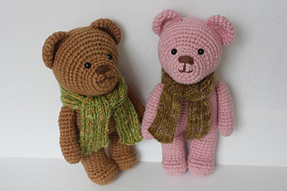Free Teddy Bear crochet pattern - Amigurumi Today | 213x320