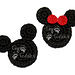 Mouse Head Appliques pattern