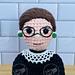 Ruth Bader Ginsburg Doll pattern