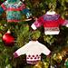 Noel Knit Sweater Ornaments pattern
