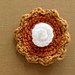 Pumpkin Pie Brooch pattern