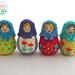 Amigurumi Matryoshka, Russian Nesting Doll pattern