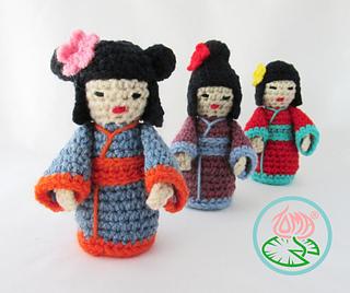 Rilakkuma & Pretty Character Amigurumi Doll Japanese Crochet ... | 268x320
