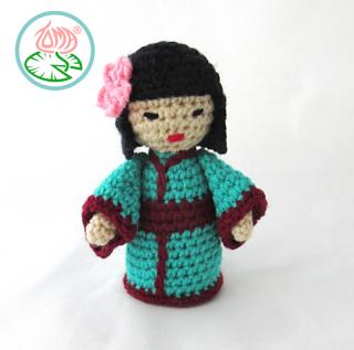 Traditional Japanese Kokeshi Doll with Kimono - Sweet Softies ... | 317x320