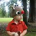 Rudolph Beanie pattern
