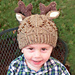 Toddler Beaded Deer Hat pattern