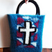 Stained Glass Window Bible Tote pattern