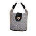 Felted Mini-Bucket Handbag pattern