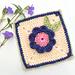 Greta's Garden square pattern