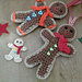 Festive Gingerbread Man pattern