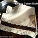 Striped Cotton Dishtowel pattern