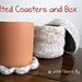 Felted Coasters and Box pattern