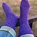 DK Treasures Ribbed Socks pattern