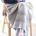 Rainbow dots blanket pattern