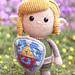 Link from The Legend of Zelda pattern