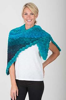 Ravelry: 5501E Crochet Triangle Shawl pattern by Maggie Nunez