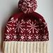 Winter Flurries Hat pattern