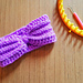 Loom Brioche Stitch Headband pattern