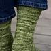 Hauenleukasukat - Northern Pike Socks pattern