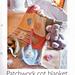 Patchwork Cot Blanket pattern