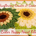 Sunflowers Coasters and placemats pattern