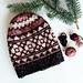 Cranberry Holiday pattern