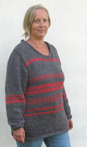 plocka upp i lager auktoriserad webbplats Ravelry: Quick to make alpaca pulli/Snabbstickad alpacka tröja ...