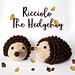 Ricciolo The Hedgehog pattern